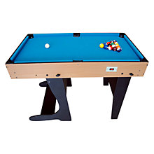 Buy BCE Riley 4 Foot Folding 21-in-1 Multi Game Table Online at johnlewis.com