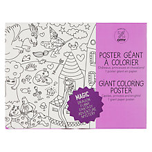 Buy Giant Magic Colouring Poster Online at johnlewis.com