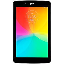 "Buy LG G Pad 7.0 Tablet, Qualcomm Snapdragon, Android, 7.0"", Wi-Fi, 8GB, Black Online at johnlewis.com"