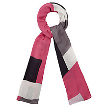 Buy Viyella Colour Block Scarf, Multi Online at johnlewis.com