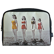 Buy Tender Love + Carry Retro Rogue Black Lined Cosmetic Bag Online at johnlewis.com