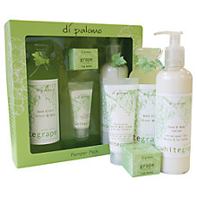 Buy Di Palomo White Grape Bath & Body Pamper Pack Online at johnlewis.com