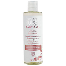 Buy Organic Surge Spiced Lilly Foam Bath, 250ml Online at johnlewis.com