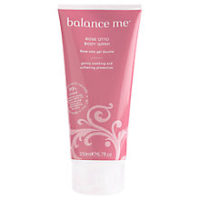 Buy Balance Me Rose Otto Body Wash, 200ml Online at johnlewis.com