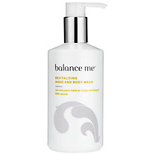 Buy Balance Me Revitalising Hand & Body Wash, 300ml Online at johnlewis.com