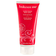 Buy Balance Me Super Toning Body Wash, 200ml Online at johnlewis.com
