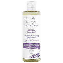Buy Organic Surge Lavender Meadow Foam Bath, 250ml Online at johnlewis.com