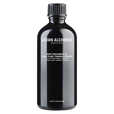 shop for Grown Alchemist Body Treatment Oil: Ylang Ylang, Tamanu & Omega 7, 100ml at Shopo