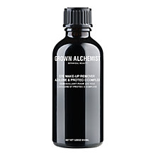 Buy Grown Alchemist Azulene & Protec-3 Eye-Makeup Remover, 50ml Online at johnlewis.com