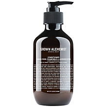 Buy Grown Alchemist Damask Rose, Chamomile & Lavender Stem Conditioner, 300ml Online at johnlewis.com