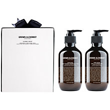 Buy Grown Alchemist Hand Wash & Hand Cream 300ml Twin Set Online at johnlewis.com
