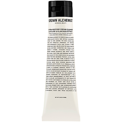 shop for Grown Alchemist Hydra-Restore Cream Cleanser: Olive Leaf & Plantogo Extract, 100ml at Shopo