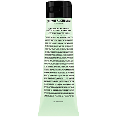 shop for Grown Alchemist Purifying Body Exfoliant: Pearl, Peppermint & Ylang Ylang, 170ml at Shopo