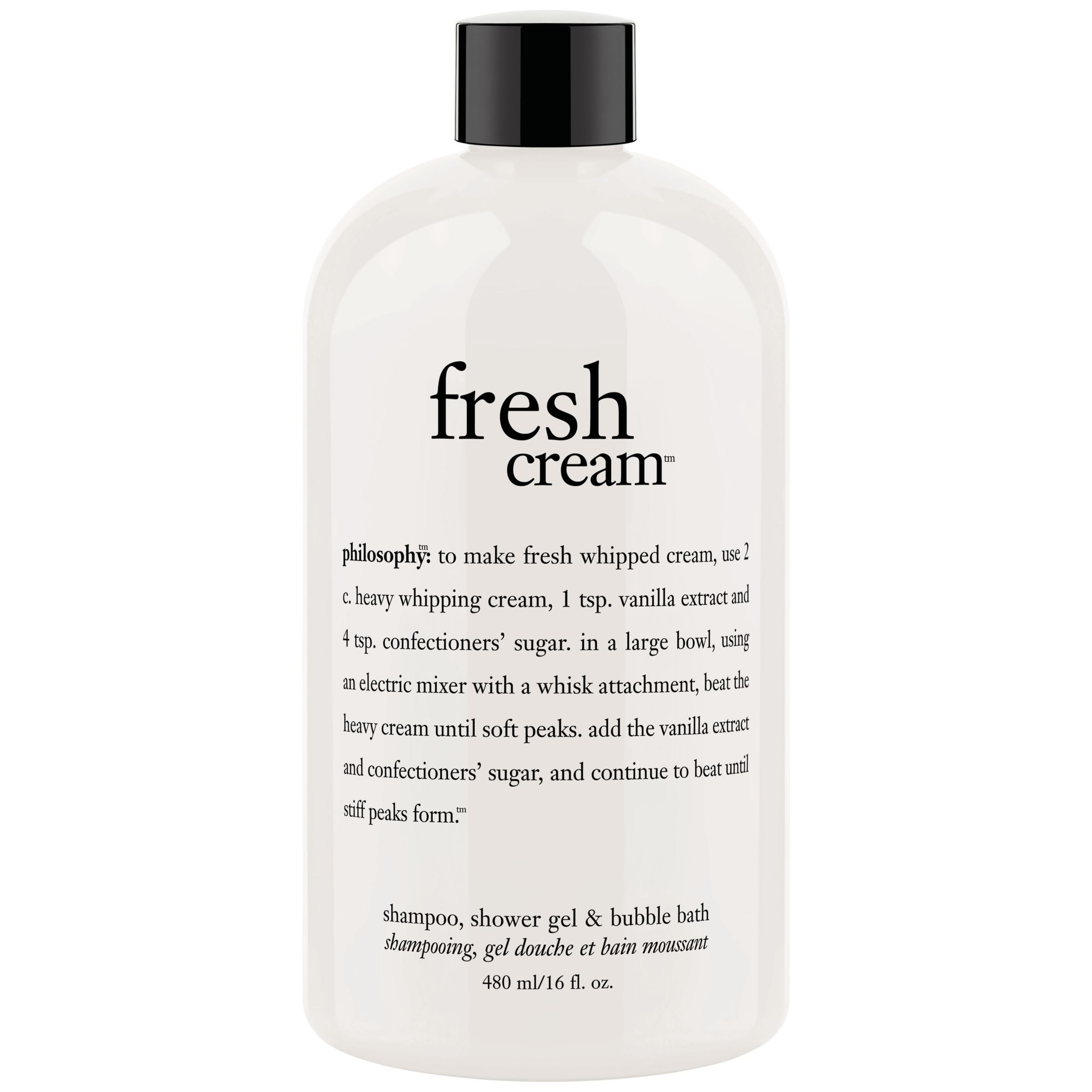 Philosophy Philosophy Fresh Cream Shower Gel, 480ml