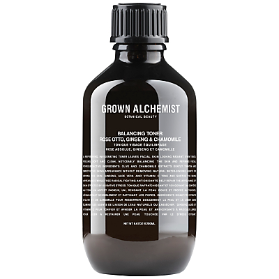 shop for Grown Alchemist Balancing Toner: Rose Absolute, Ginseng & Chamomile, 200ml at Shopo