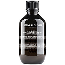 Buy Grown Alchemist Balancing Toner: Rose Absolute, Ginseng & Chamomile, 200ml Online at johnlewis.com