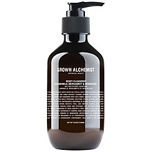 Buy Grown Alchemist Body Cleanser: Chamomile, Bergamot & Rosewood Online at johnlewis.com