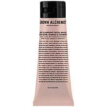 Buy Grown Alchemist Deep Cleansing Masque: Wheatgerm, Ginkgo & Cranberry, 65ml Online at johnlewis.com