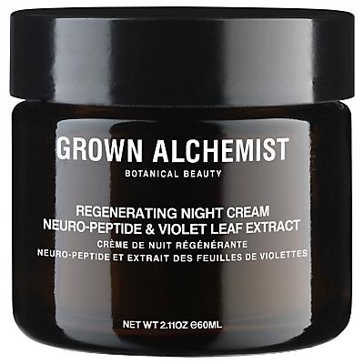 shop for Grown Alchemist Neuro-Peptide & Violet Leaf Extract Regenerating Night Cream, 60ml at Shopo