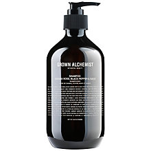 Buy Grown Alchemist Shampoo: Damask Rose, Black Pepper & Sage, 300ml Online at johnlewis.com