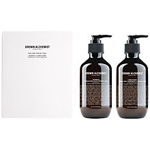 Buy Grown Alchemist Shampoo & Conditioner Duo Gift Set, 300ml Online at johnlewis.com