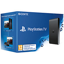 Buy PlayStation TV And Voucher Online at johnlewis.com