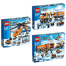 Buy LEGO City Arctic Set Trio Online at johnlewis.com