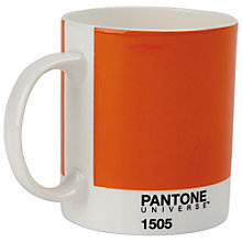 Buy Pantone Mug Pumpkin 1505 Online at johnlewis.com