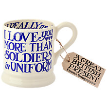 Buy Emma Bridgewater Toast Soldiers Mug, Blue Online at johnlewis.com