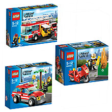 Buy LEGO City Fire Brigade Trio Online at johnlewis.com