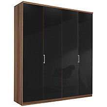 Buy John Lewis Elstra 200cm Wardrobe with Glass Hinged Doors Online at johnlewis.com
