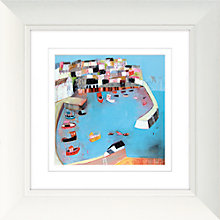 Buy Kathryn Matthews - Mevagissey Framed Print, 52 x 52cm Online at johnlewis.com