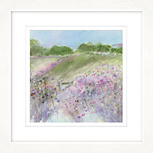 Buy Sue Fenlon - Bluebell Walk Framed Print, 57 x 57cm Online at johnlewis.com