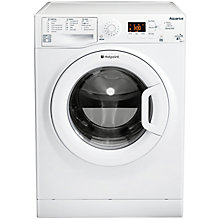 Buy Hotpoint WMAQG741P Freestanding Washing Machine, 7kg Load, A+ Energy Rating, 1400rpm Spin, White Online at johnlewis.com