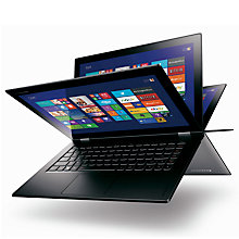 "Buy Lenovo Yoga 2 Pro Convertible Ultrabook, Intel Core i7, 8GB RAM, 128GB SSD, 13.3"" QHD+ Touch Screen, Silver Grey Online at johnlewis.com"