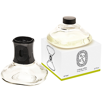 Diptyque Roses Hour Glass Diffuser Refill, 75ml