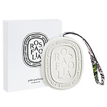 Buy Diptyque Scented Oval Rose Folia Online at johnlewis.com