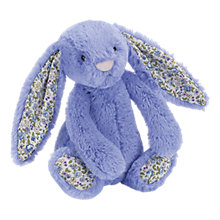 Buy Jellycat Small Blossom Bluebell Bunny Soft Toy Online at johnlewis.com