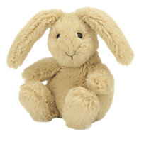 Buy Jellycat Poppet Honey Bunny Baby Soft Toy Online at johnlewis.com
