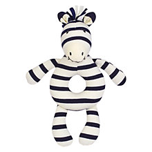 Buy Jellycat Zoot Zebra Grabber Online at johnlewis.com