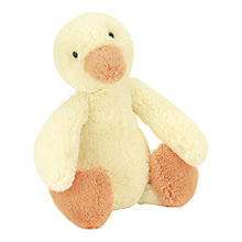 Buy Jellycat Bashful Duckling Soft Toy, Small Online at johnlewis.com