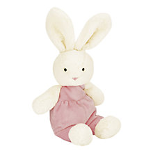Buy Jellycat Velvet Bunny Soft Toy Online at johnlewis.com
