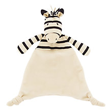Buy Jellycat Zoot Zebra Soother Online at johnlewis.com