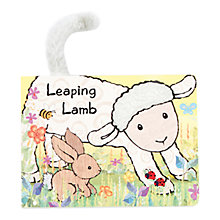 Buy Jellycat Leaping Lamb Book Online at johnlewis.com
