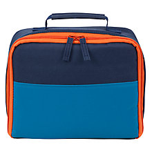 Buy John Lewis Children's Lunch Box, Blue Online at johnlewis.com