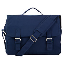 Buy John Lewis Children's Satchel Bag, Navy Online at johnlewis.com