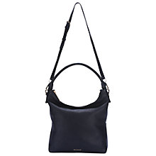 Buy Whistles Belgrave Simple Hobo Bag, Navy Online at johnlewis.com