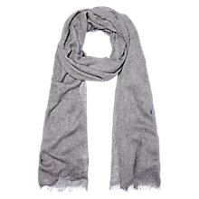 Buy Whistles Plain Wool Mix Scarf Online at johnlewis.com