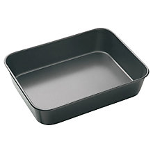 Buy Masterclass Roasting Pan, L34cm Online at johnlewis.com