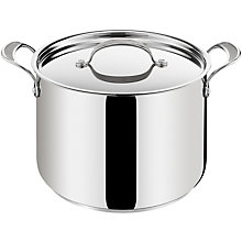 Buy Jamie Oliver for Tefal Stainless Steel Stockpot 9.4L Online at johnlewis.com